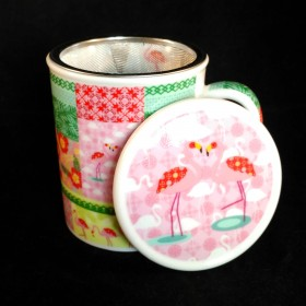Tasse Flamants Roses